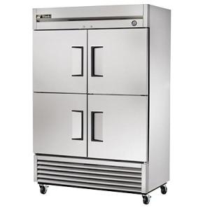 True Half Door Refrigerator