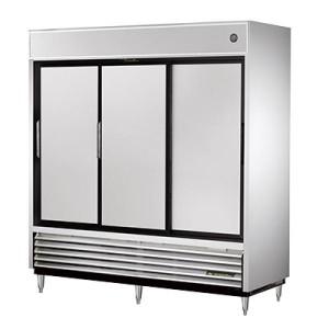 True Sliding Door Refrigerator