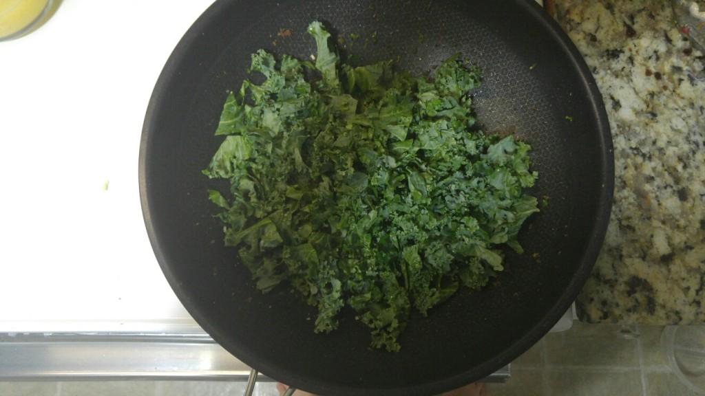 Step 4 - add kale