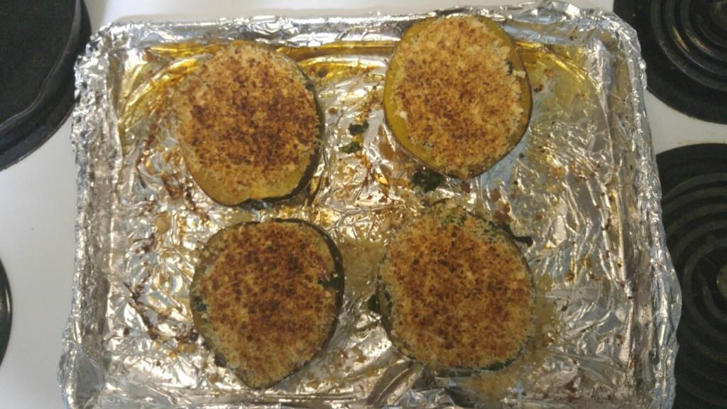 step 8 - bake until golden brown