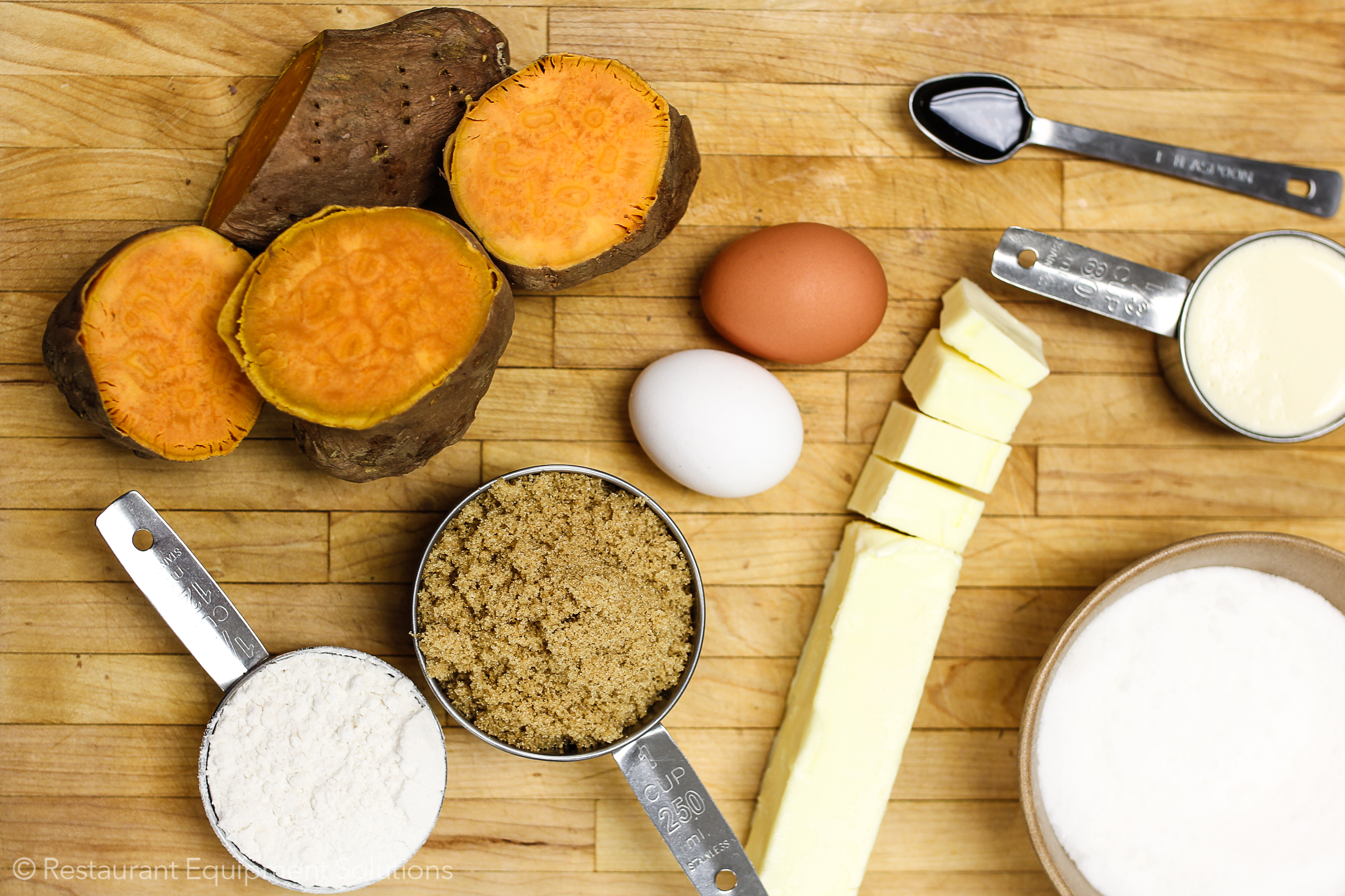 sweet potato casserole ingredients