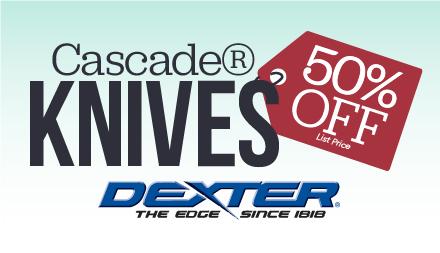 Cascade Knives on Sale Through 10/27!