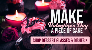 Shop Dessert Dishes for Your Valentine's Day Specials