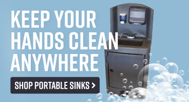 Keep Hands Clean Anywhere with Portable Hand Sinks