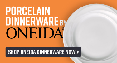 Durable Porcelain Dinnerware by Oneida