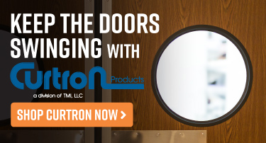 Keep Your Doors Swinging with Curtain
