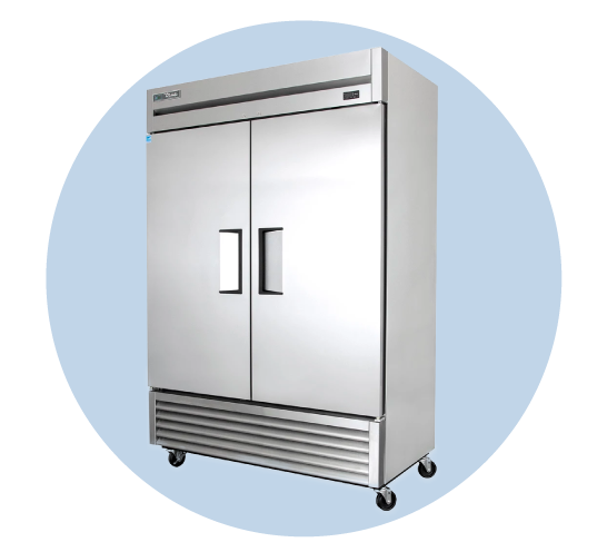Reach In Refrigerators Freezers