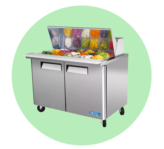 Food Prep Refrigeration Tables