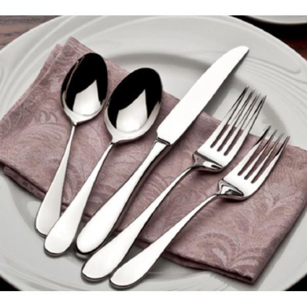 18-8 Santa Cruz Pattern World Tableware Flatware & 18-8 World Tableware Flatware - Restaurant Supplies