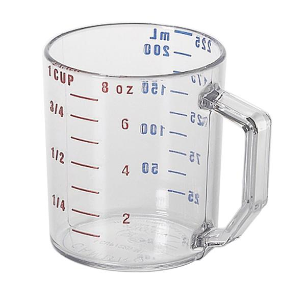 Cambro 25MCCW135 Camwear Measuring Cup, 1 cup, dry measure, molded handle