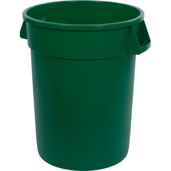 Carlisle 34103209 Bronco Waste Container, Green