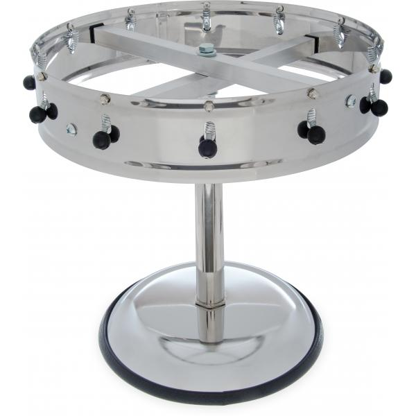 Carlisle 3812MP Pedestal Order Wheel, Stainless Steel