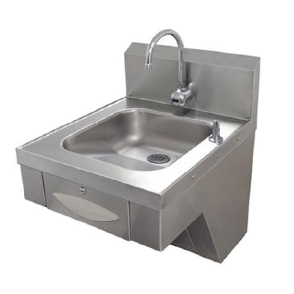 Wall Mounted Hand Sink Ada Compliant W Electric Faucet