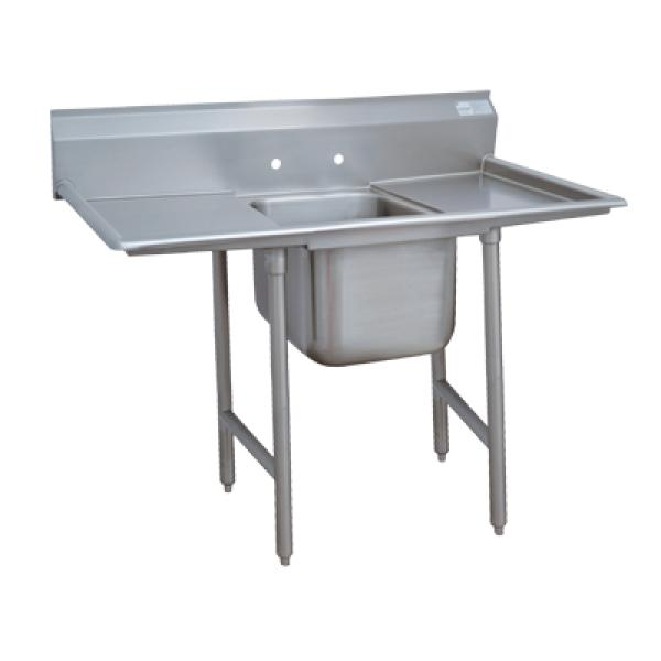 1 Compartment Sink W 24 Left Right Drainboards