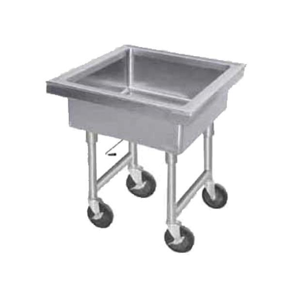 Portable Stainless Steel Sink : Portable Soak Sink - Stainless Steel - 36