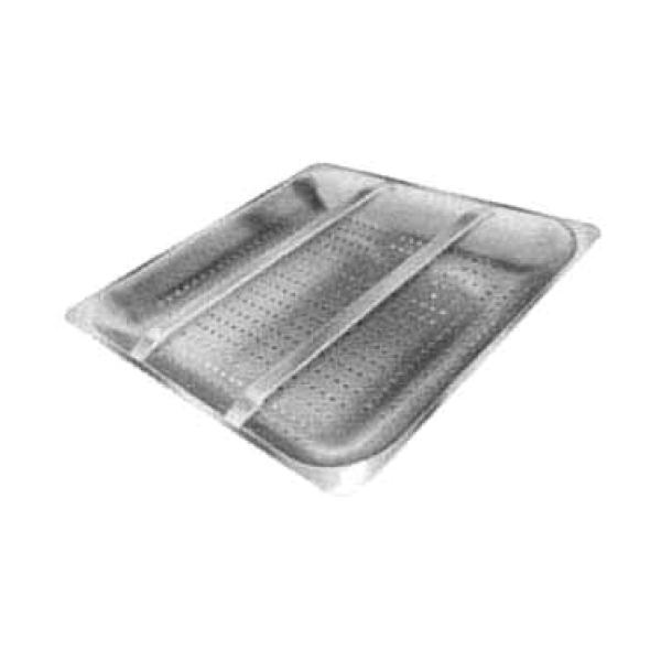 "Advance Tabco DTA62 Pre-Rinse Basket w/ Slide Bar - (for 20"" x 20"" Pre-Rinse Sink)"