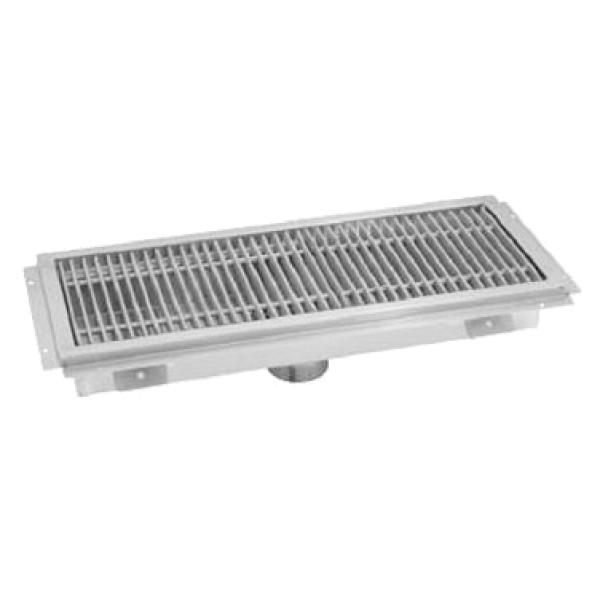 36 Quot W X 12 Quot L X 4 Quot D Stainless Steel Floor Trough W