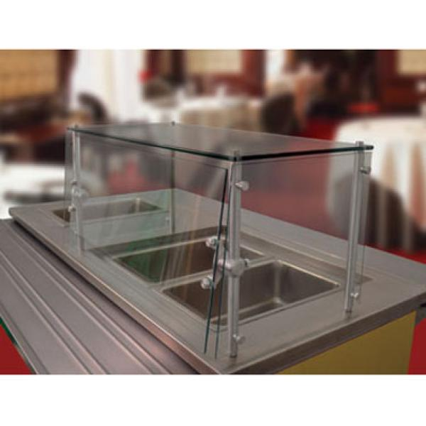 132 Quot X 18 Quot Cafeteria Sneeze Guard W Glass Top Shelf