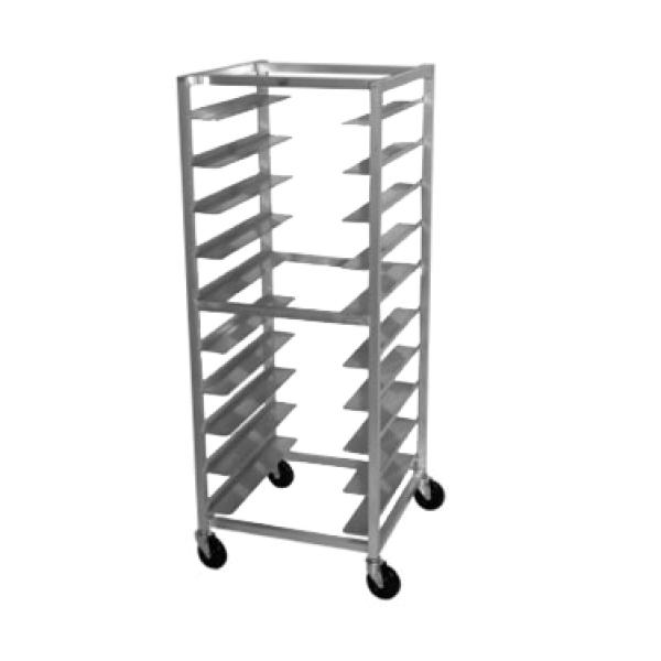 Mobile Tray Rack Oval Tray Storage Capacity 10 Trays Restaurant Equipment Solutions