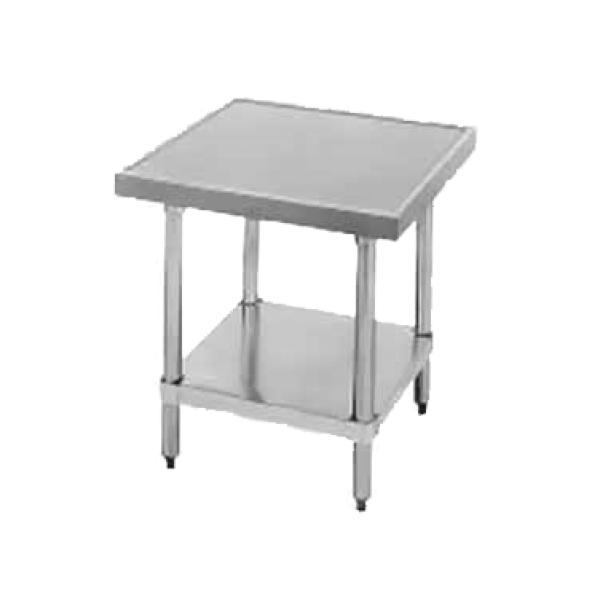 Advance Tabco AGMT302 Budget Equipment Stand with adjustable undershelf