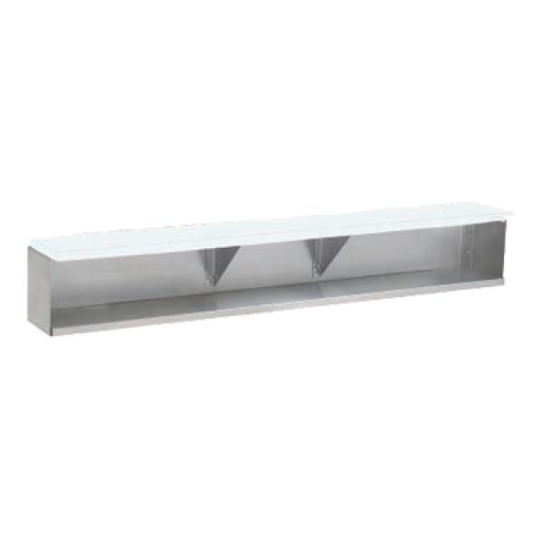 "Advance Tabco TDS5 78"" Stainless Steel Add-On Dish Shelf"