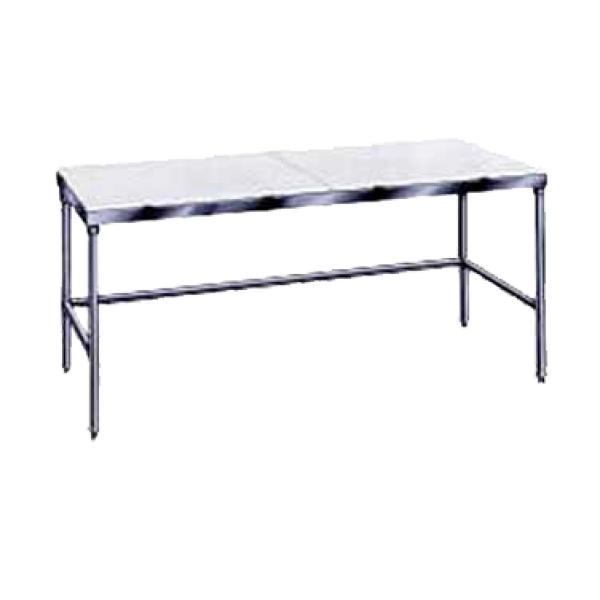 "Advance Tabco TSPT308 96""L x 30""W Work Table - Cutting Surface Top - No Backsplash"