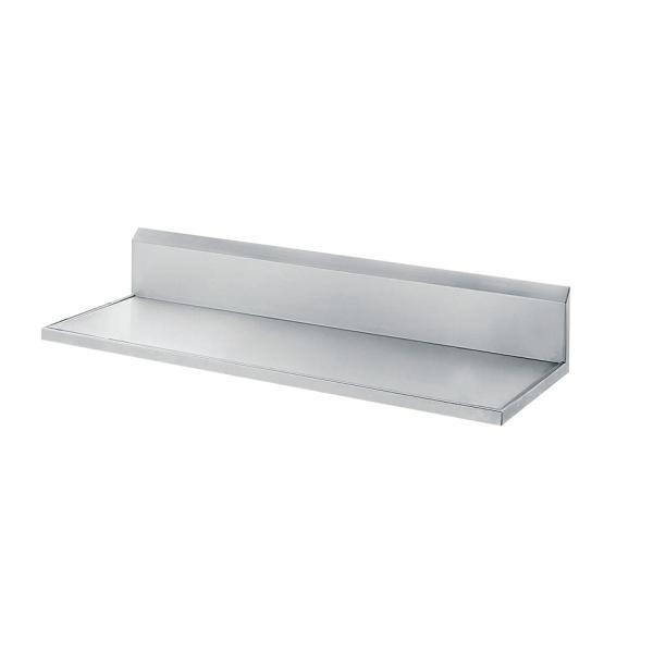 84 L X 24 W Stainless Steel Countertop W 10 Backsplash Restaurant Equipment Solutions