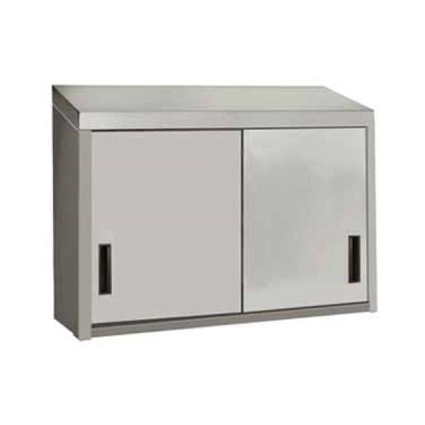 48 W X 15 D Wall Mounted Cabinet Enclosed Design W Sliding Doors