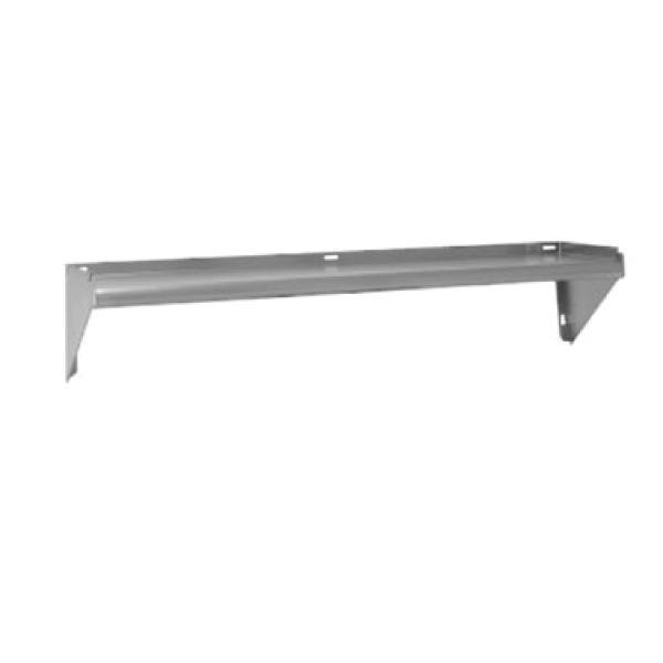"Advance Tabco WSKD60 60""L x 11-1/8""W Stainless Steel Wall Mounted Shelf"