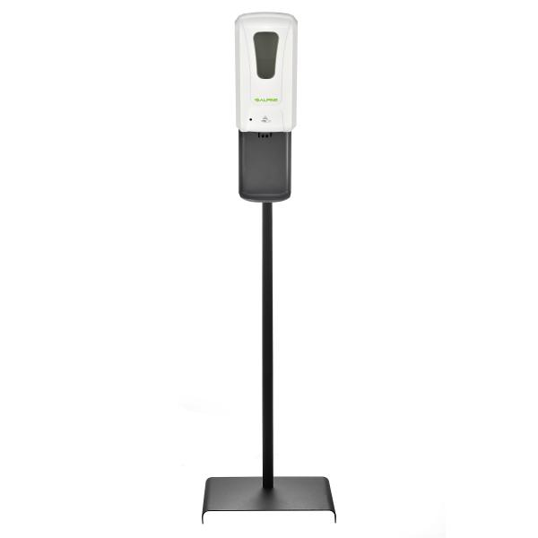 Alpine 430LS Automatic Hands-Free Liquid/Gel Hand Sanitizer/Soap Dispenser with Floor Stand