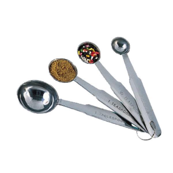 Nice Measuring Spoon Set, 1 Tablespoon, 1 Teaspoon, 1/2 Teaspoon And 1