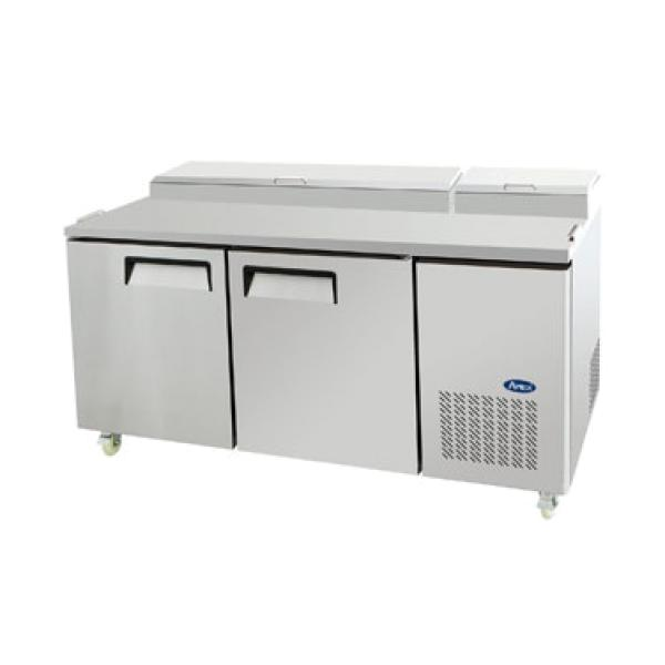 Atosa MPF8202GR Atosa Refrigerated Pizza Prep Table
