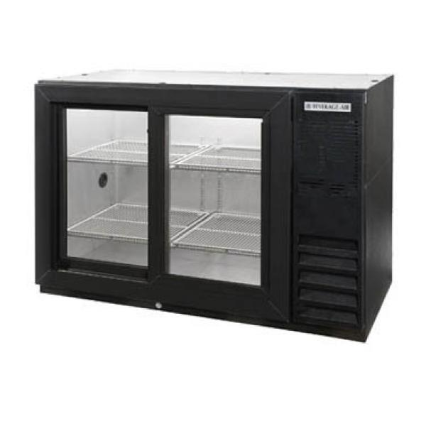 Beverage Air BB48HC1FGSB27 Refrigerated Food Rated Back Bar Storage Cabinet