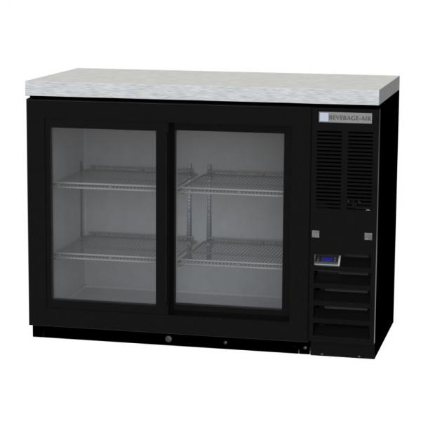 Beverage Air BB48HC1FGSS Refrigerated Food Rated Back Bar Storage Cabinet