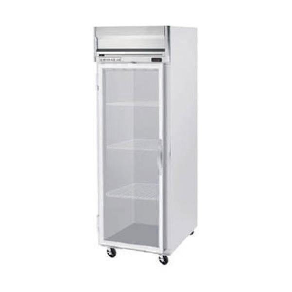 "Beverage Air HRS1W1G 35"" Reach-in Refrigerator - 34 Cu. Ft. - One Glass Door"