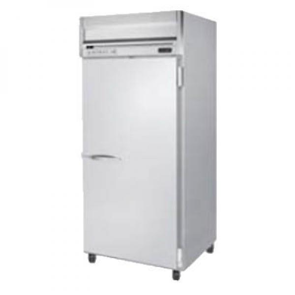 "Beverage Air HRS1W1S 35"" Reach-in Refrigerator - 34 Cu. Ft. - One Solid Door"