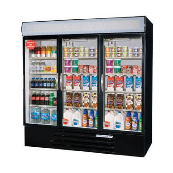 Beverage Air MMR72HC1B MarketMax Refrigerated Merchandiser, Black