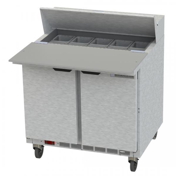Beverage Air SPE36HC10C Elite Series Sandwich Top Refrigerated Counter