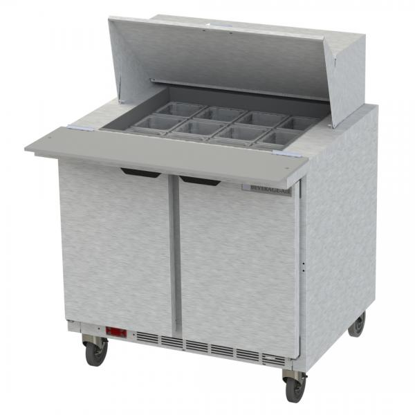 Beverage Air SPE36HC12M Elite Series Mega Top Refrigerated Counter