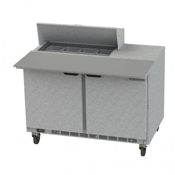 Beverage Air SPE48HC08C Elite Series Sandwich Top Refrigerated Counter