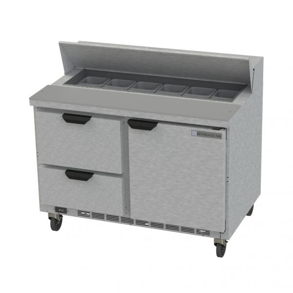 Beverage Air SPED48HC122 Elite Series Sandwich Top Refrigerated Counter