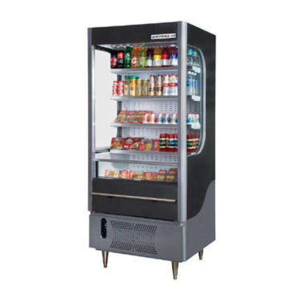 Beverage Air VM71GLED Vuemax Series Open-Air Merchandiser