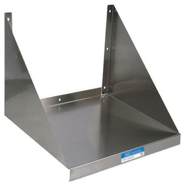 Microwave Shelf, wall mount, 30