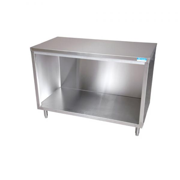 Work Table Cabinet Base With Open