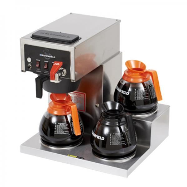 Koffee King 3 Warmer Automatic Coffee Brewer w/ Hot Water Faucet (120v/60/1-ph): Restaurant ...