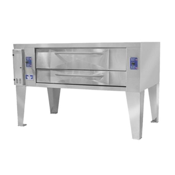Bakers Pride Y602BL Super Deck Series Pizza Deck Oven