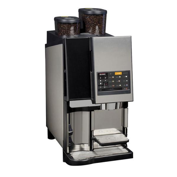 Bunn 43400 0500 43400 0500 Bunn Espress Sure Tamptm Auto 1 Step Espresso Machine Super Automatic 2 Grinders