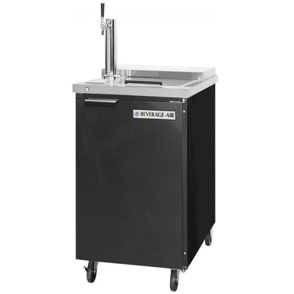 24 Quot Black Portable Club Top Draft Beer Cooler 1 Keg