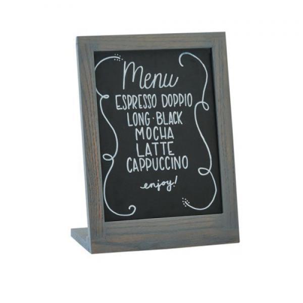 Ashwood Chalkboard 9 W X 4 D X 11 H Oal 8 W X 11 H Writing Surface Oak W Restaurant Equipment Solutions
