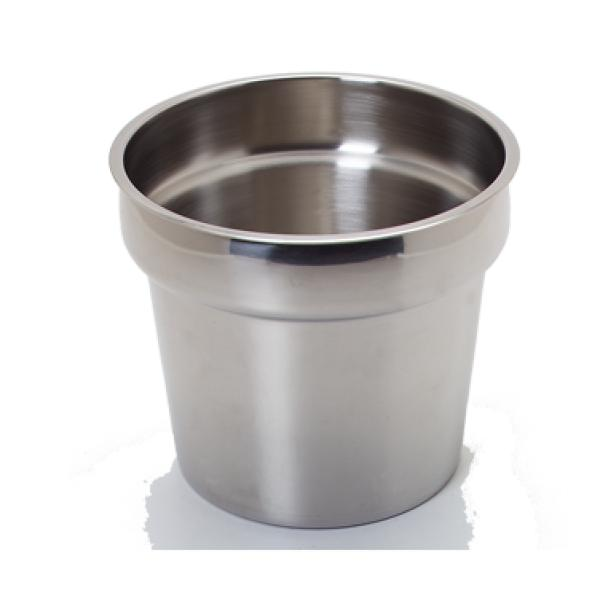 "Inset, 7 quart, fits in 8-1/2"" dia. opening"